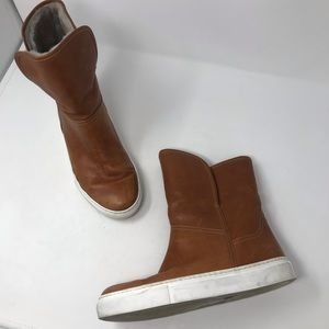 M Gemi The Polare fur lined boots size 39